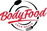 Body Food Lean Meals Red Black Logo
